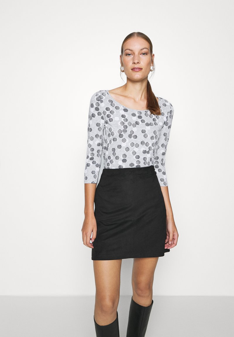 Esprit - TEE - Long sleeved top - light grey