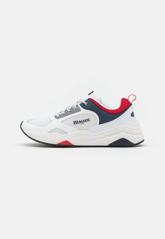 TOK - Sneakersy niskie - white/red/navy