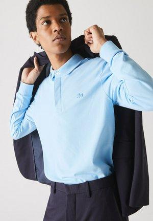 HERREN POLOSHIRT REGULAR FIT LANGARM - Polo shirt - bleu