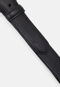 Polo Ralph Lauren - SMOOTH - Formální pásek - black - 4