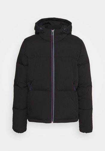 HOODED JACKET - Down jacket - black