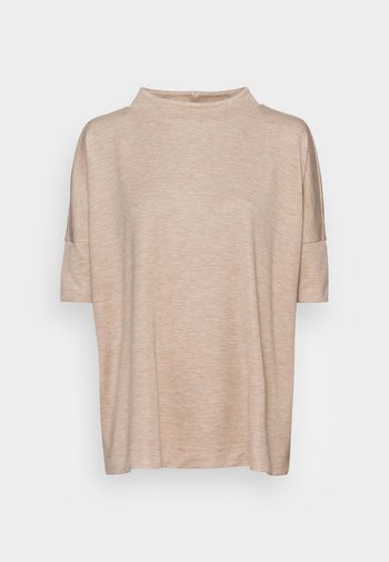 ULRIQUE - Basic T-shirt - cashmere cream