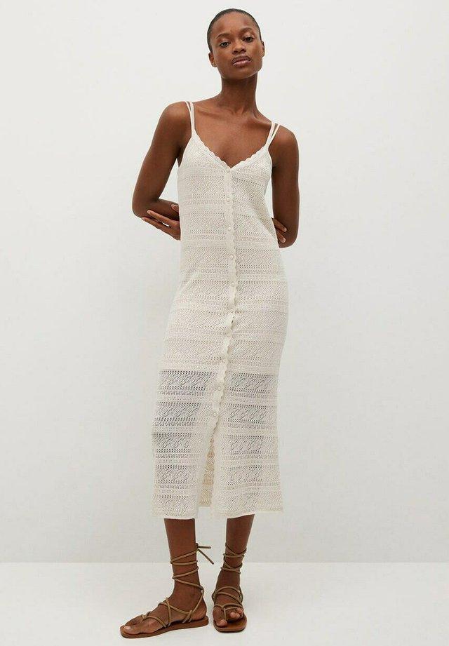 Gebreide jurk - gris claro/pastel
