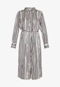 GINA - Vestido informal - black/white