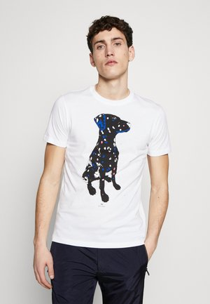 MENS  DALMATION - Print T-shirt - white