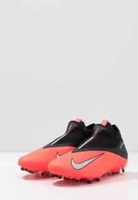 Nike Performance - PHANTOM VISION 2 PRO DF FG - Moulded stud football boots - laser crimson/metallic silver/black - 2