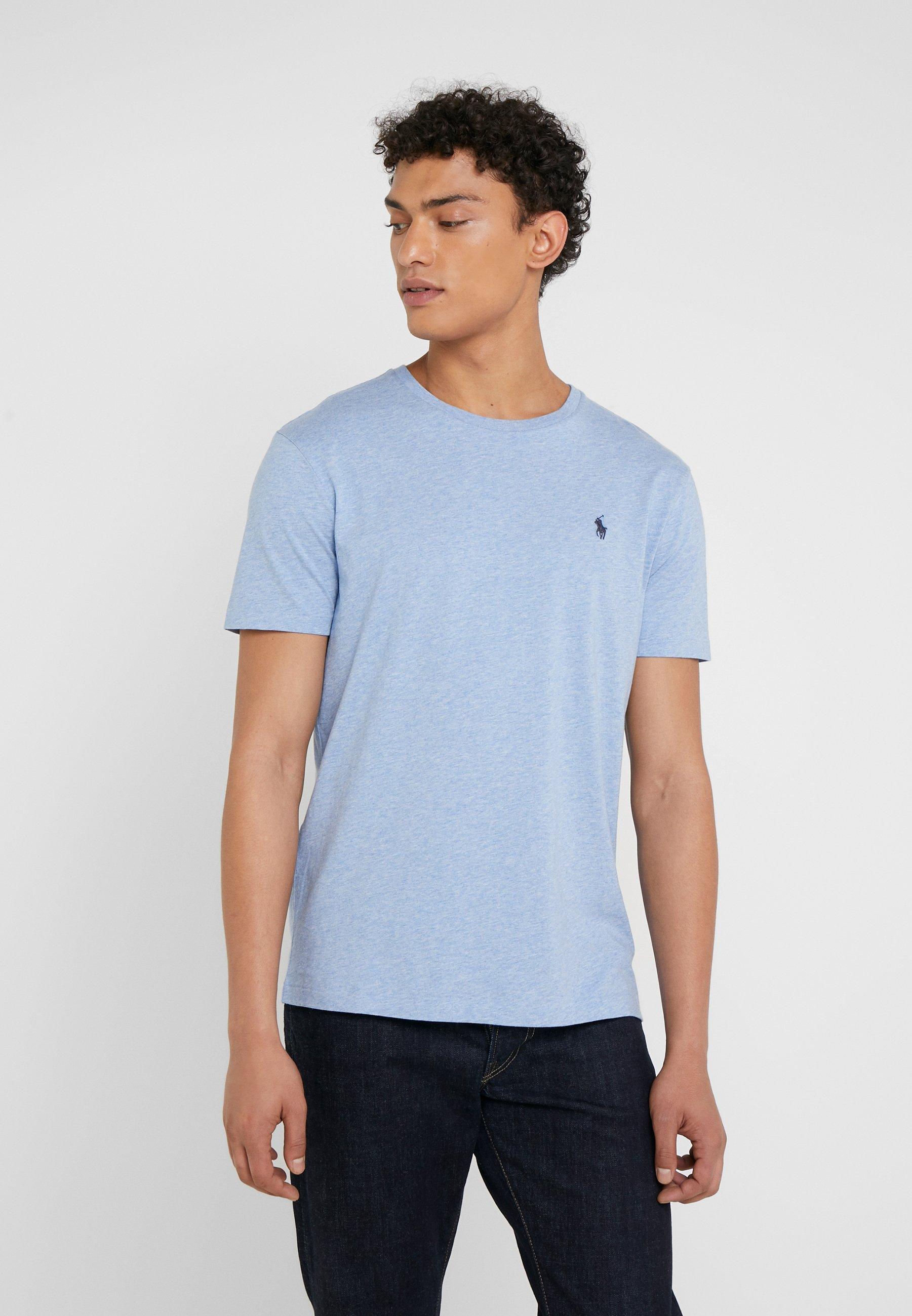 Uomo CUSTOM SLIM FIT JERSEY CREWNECK T-SHIRT - T-shirt basic