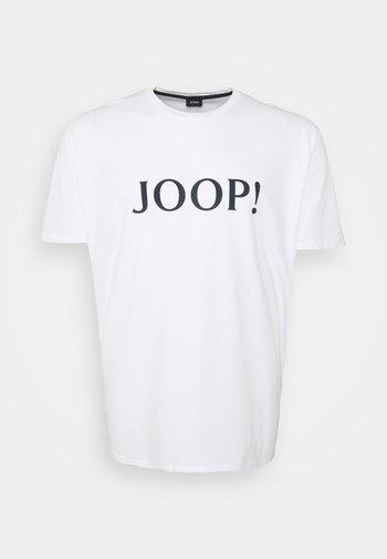 ALERIO - T-shirt med print - white