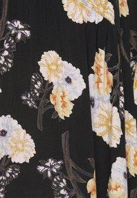 Pieces Petite - PCNADI  - Denní šaty - black/flowers - 6