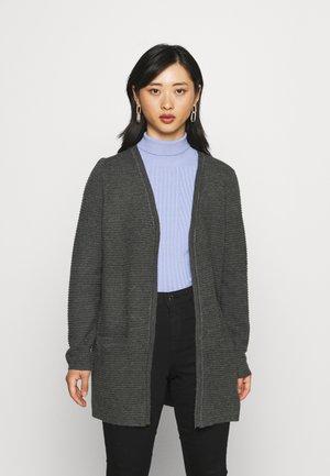 ONLKATIA CARDIGAN - Vest - dark grey melange
