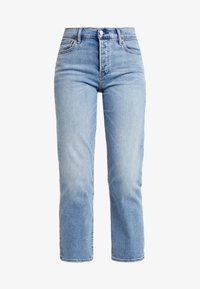 GAP - CHEEKY BLEECKER SHADOW - Straight leg jeans - light-blue denim - 3