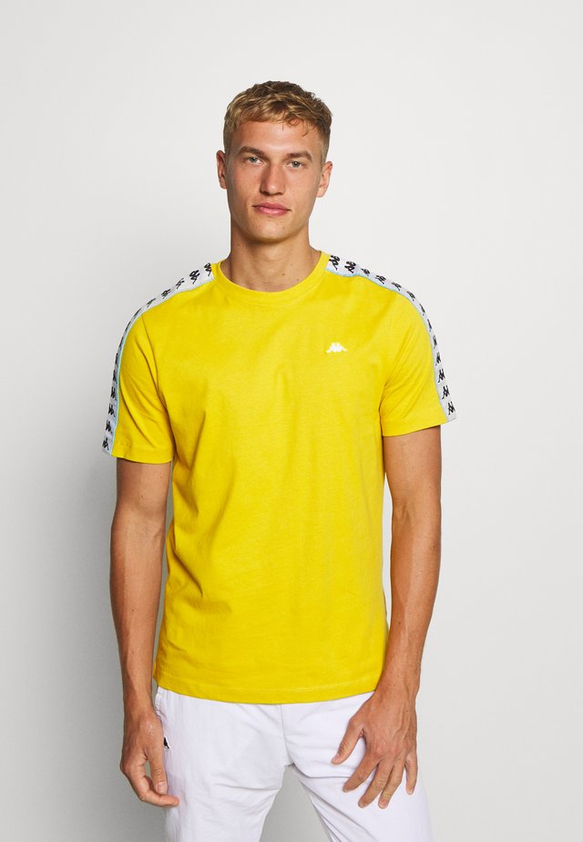 HANNO TEE - T-shirt imprimé - ceylon yellow