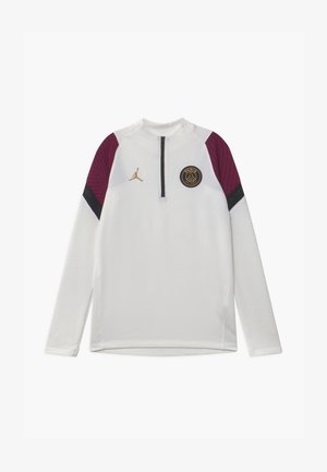 PARIS ST GERMAIN DRY UNISEX - Squadra - white/bordeaux/black/truly gold