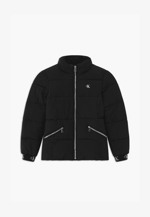 STRETCH PUFFER - Winter jacket - black