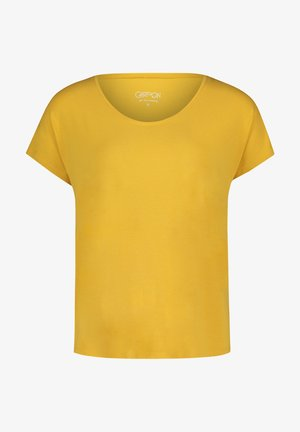 Basic T-shirt - golden rod
