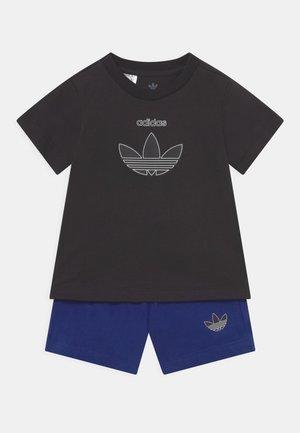 TEE SET UNISEX - Camiseta estampada - black/victory blue
