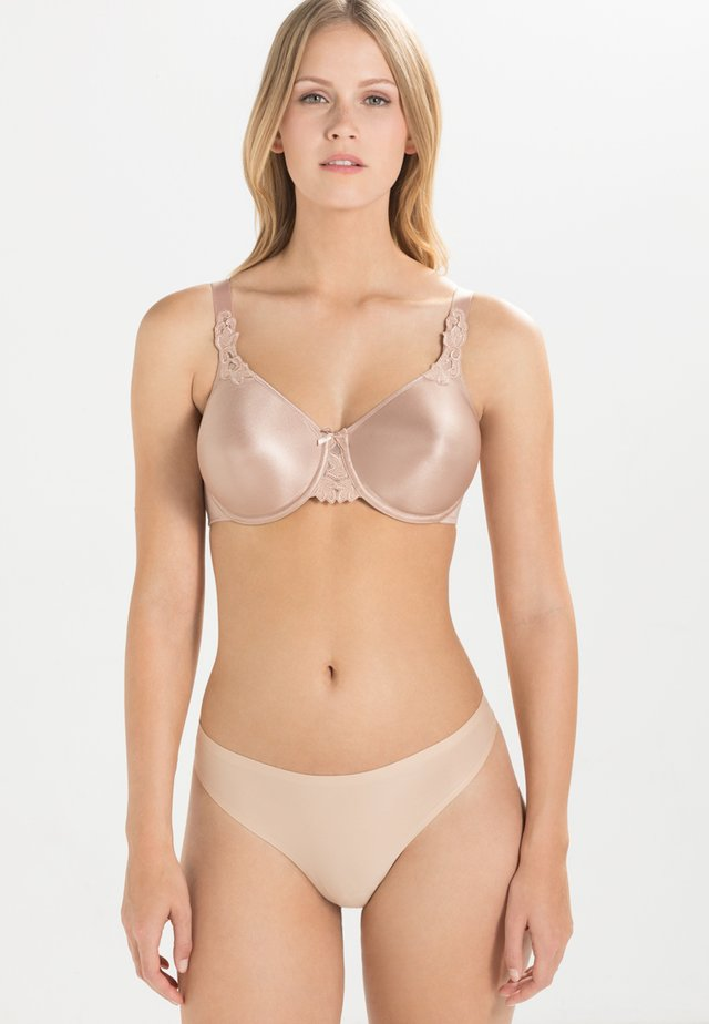 HEDONA - Underwired bra - café latte