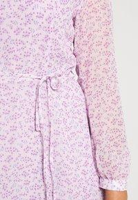 Glamorous Curve - SHEER LONGSLEEVE DRESS - Korte jurk - lilac lavender - 7