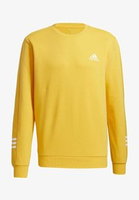 adidas Performance - ESSENTIALS TRAINING SPORTS PULLOVER - Mikina - active gold/white - 8