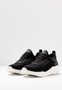 Anna Field - LEATHER - Sneakers laag - black - 4