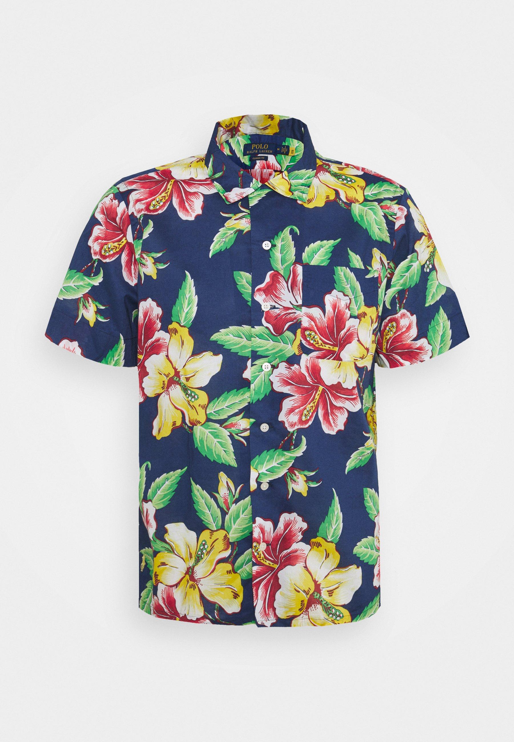 Uomo CLASSIC FIT PINEAPPLE-PRINT CAMP SHIRT - Camicia