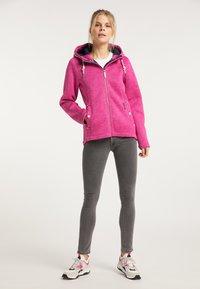 Schmuddelwedda - Winter jacket - pink melange - 1