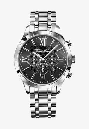 REBEL URBAN  - Chronograph watch - silver black