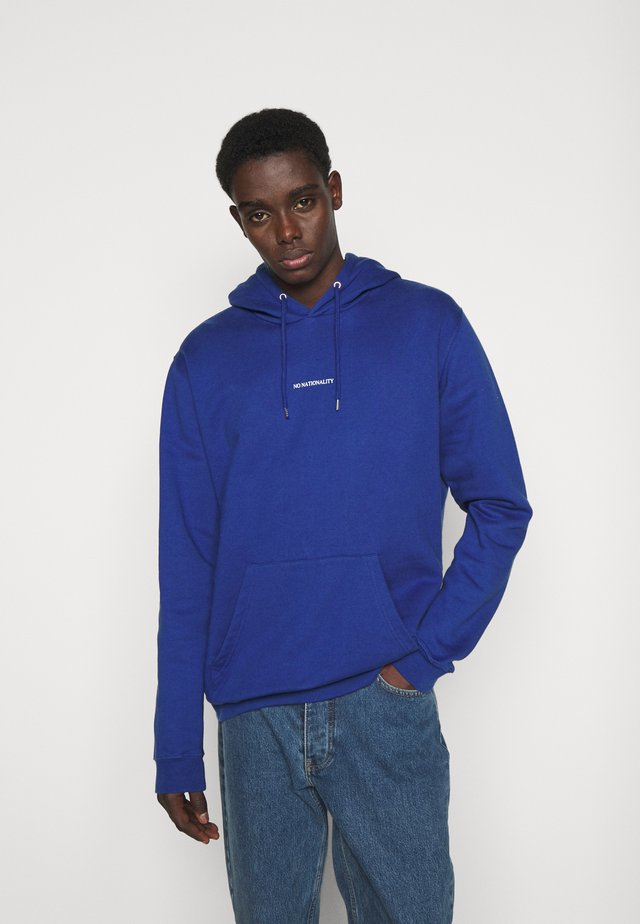 BARROW PRINTED HOODIE - Sweat à capuche - cobalt blue