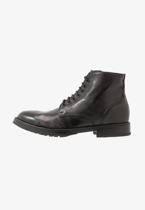 EVERGLADES - Bottines à lacets - black