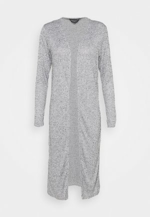 MAXI CARDIGAN - Strickjacke - grey