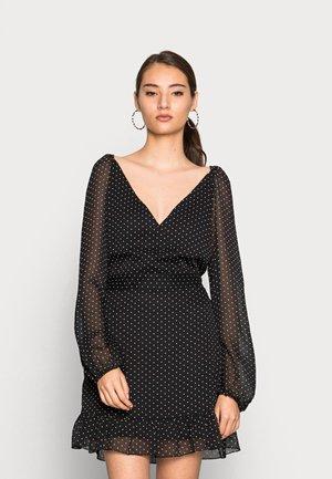 VMFIE MINI DRESS - Day dress - black