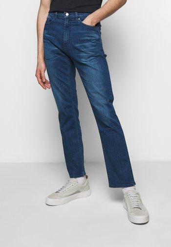 Jeansy Straight Leg - turquoise/aqua