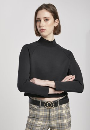 INTERLOCK - Sweater - black