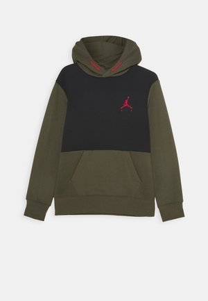 JUMPMAN AIR - Bluza z kapturem - cargo khaki