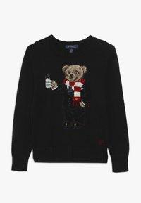 Polo Ralph Lauren - BEAR TOPS - Strickpullover - polo black - 0