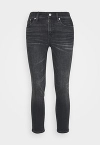 J.CREW PETITE - LOOKOUT CANDIANI PENWOOD - Slim fit jeans - charcoal - 0