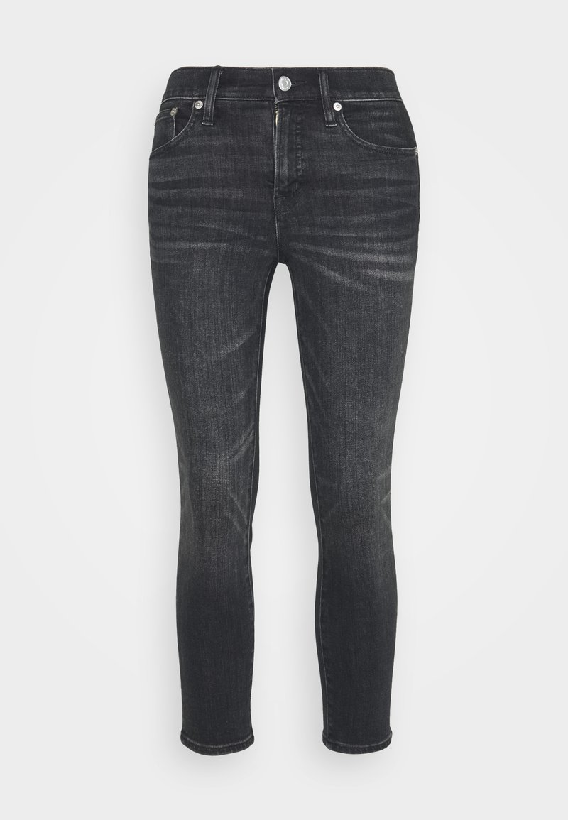 J.CREW PETITE - LOOKOUT CANDIANI PENWOOD - Slim fit jeans - charcoal