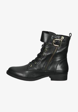 Veterboots - black leather