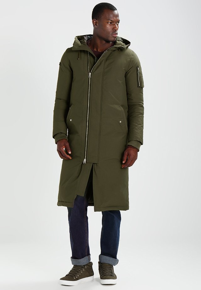 TOWER - Down coat - khaki