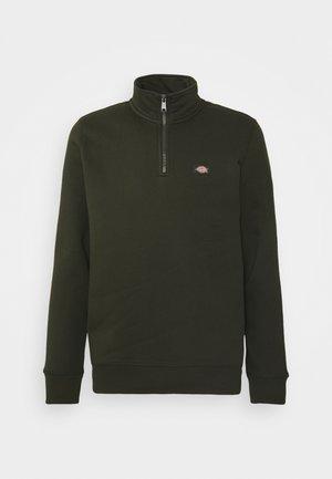 OAKPORT QUARTER ZIP - Sweatshirt - olive green