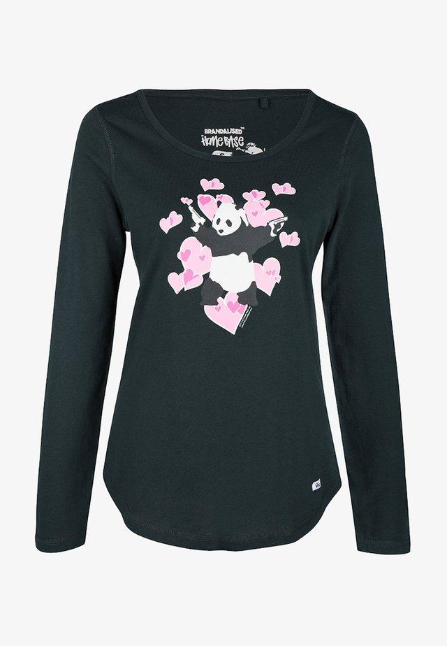 BRANDALISED - T-shirt à manches longues - flaschengrün