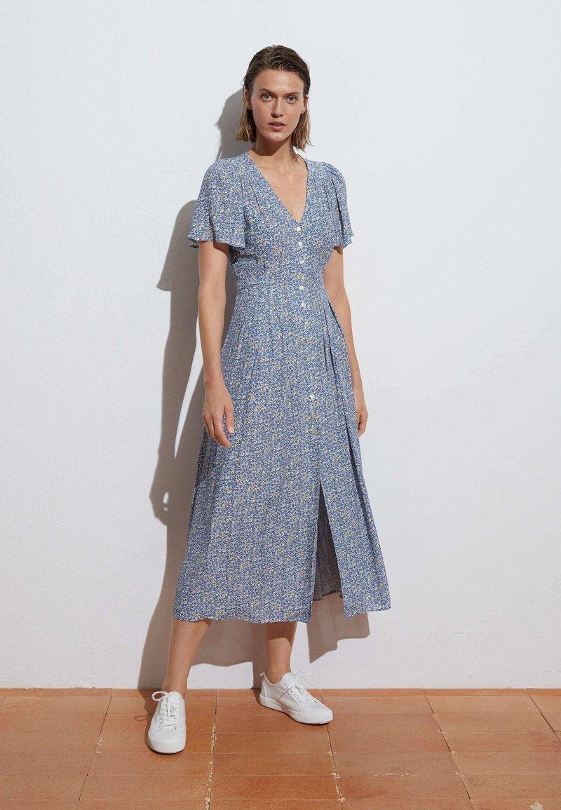 OYSHO - Shirt dress - blue