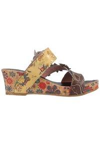 LAURA VITA - Sandály na vysokém podpatku - multi - 2