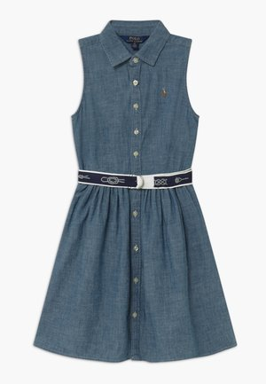 Shirt dress - indigo