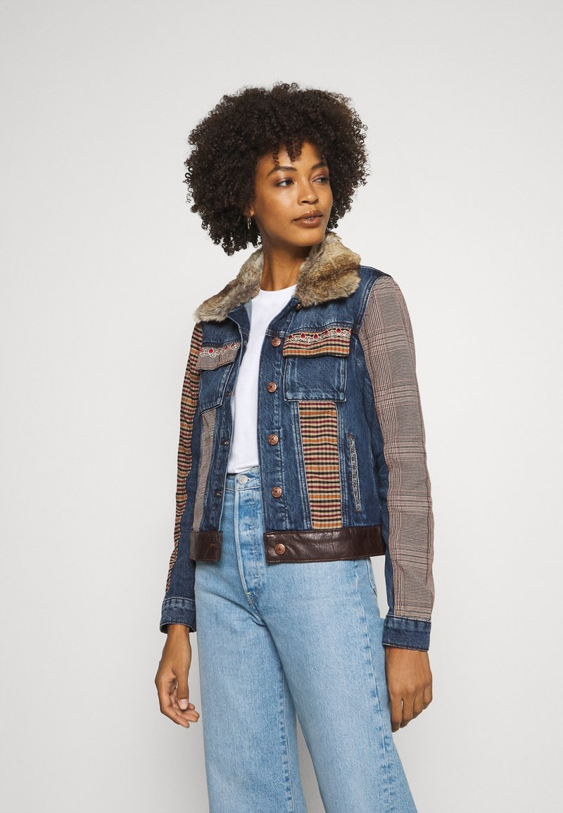 Desigual - CHAQ ALMU - Jeansjacke - denim light