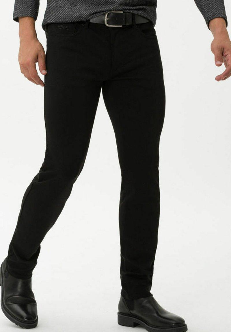 BRAX - STYLE CHRIS - Trousers - black