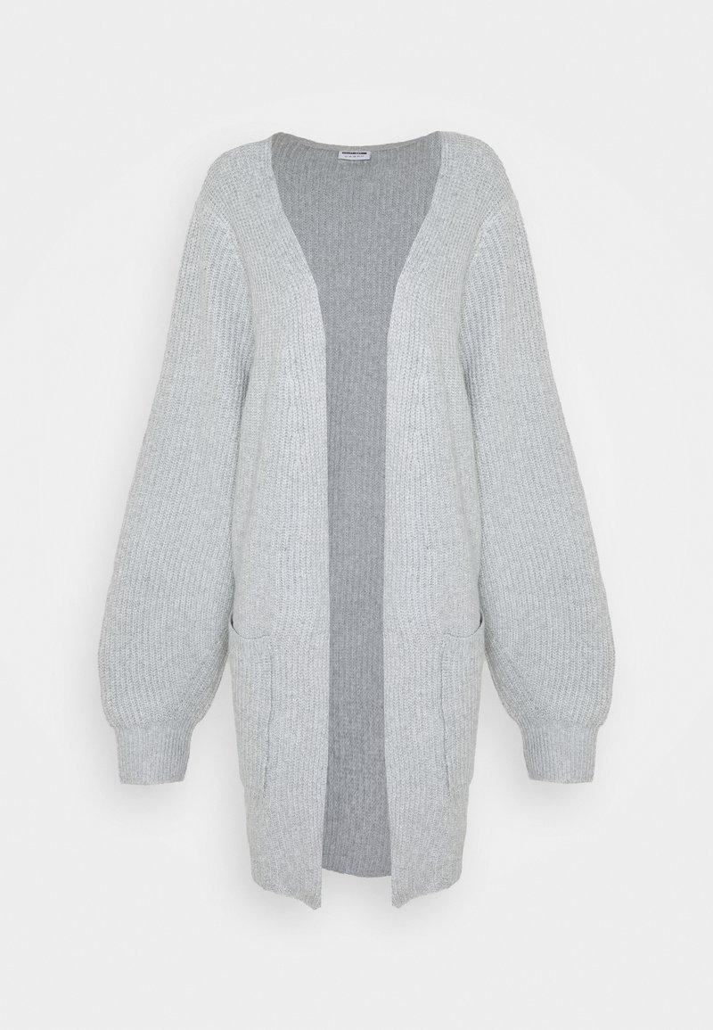 Noisy May Curve - Cardigan - light grey melange