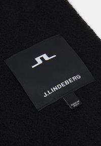 J.LINDEBERG - CHAMP SOLID SCARF UNISEX - Bufanda - black - 3