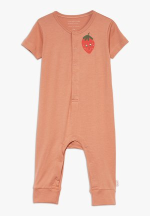 STRAWBERRY ONE PIECE - Overal - tan/red
