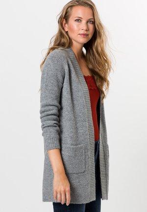 MIT SCHURWOLLE - Cardigan - silver grey-m